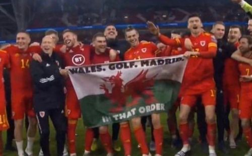 Real Madrid fans demand Gareth Bale is sold as he poses with controversial Wales flag