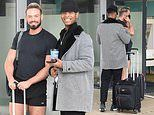Strictly's John Whaite joins partner Johannes Radebe for an appearance on Steph's Packed Lunch