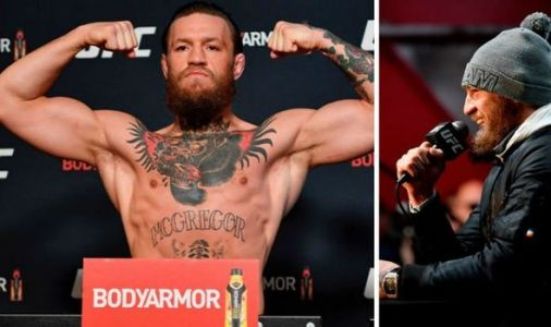 Conor McGregor weighs in at career heaviest 170lb as he bulks up dramatically for UFC return against Cowboy Cerrone