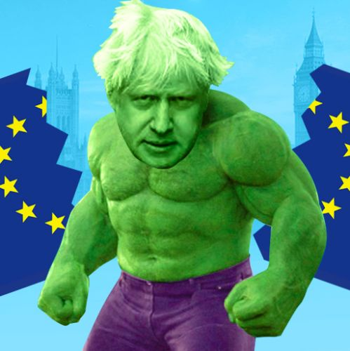 Incredible Hulk Boris confident' deal can be done in a few weeks as he goes for Brexit showdown with EU chief Juncker in Luxembourg