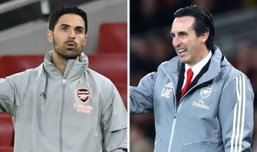 Arsenal boss Mikel Arteta makes Unai Emery dig after handing Folarin Balogun debut