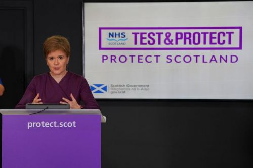 This is when Nicola Sturgeon will make her announcement on lockdown restrictions