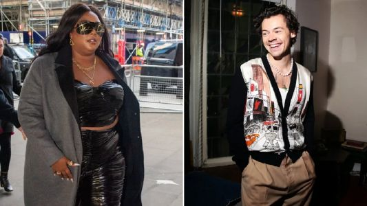 Lizzo honours her 'favourite British import' Harry Styles with Adore You cover in Live Lounge - complete with flute solo