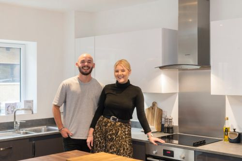 When Covid-19 derailed their travel plans, this couple bought their first home instead