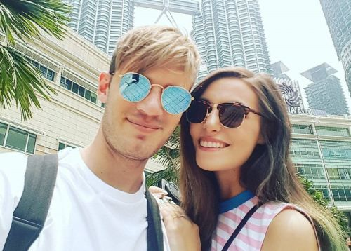 PewDiePie gushes about new wife Marzia Bisognin for first time in unearthed video