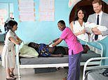 Welsh midwives travel to Liberia to help train hospital staff