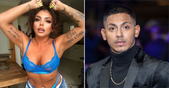 Jesy Nelson gets boyfriend Sean Sagar all hot and bothered with her latest thirst trap