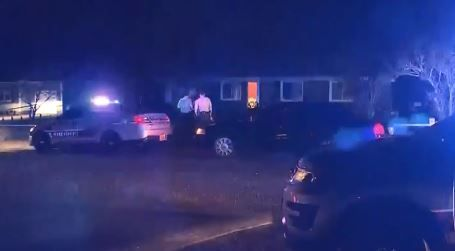 Newborn baby 'dangled lifelessly' after being shot dead by child at home