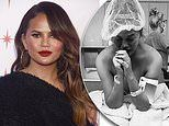 Chrissy Teigen reveals a stranger gave her flowers in comforting gesture following pregnancy loss
