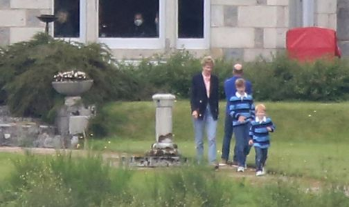 The Crown season 5: Elizabeth Debicki spotted filming as Princess Diana with young princes for the first time