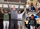 Dancing dad goes viral after starring in choreographed TikTok video with kids