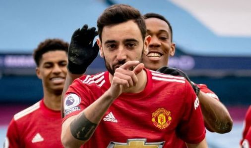 Man Utd star Bruno Fernandes sets new challenge to team-mates after 'perfect' Man City win