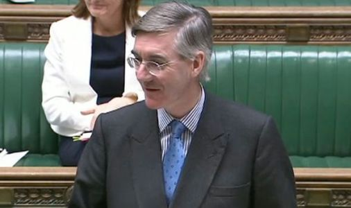 'He doesn't like his own side!' SNP MP slapped down by Jacob Rees-Mogg in mask wearing row