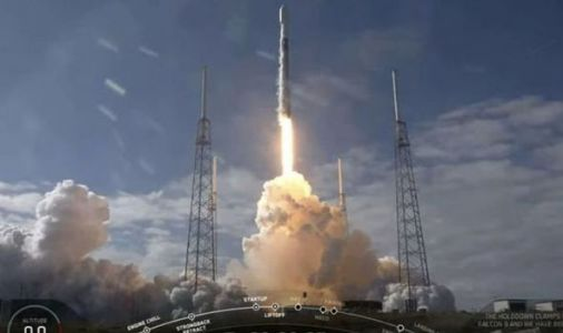 WATCH: SpaceX rocket booster fails to land correctly after missing drone ship