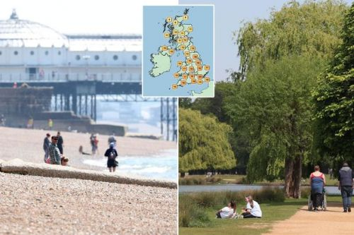 UK weather forecast: Temperatures to take a plunge after bank holiday heat