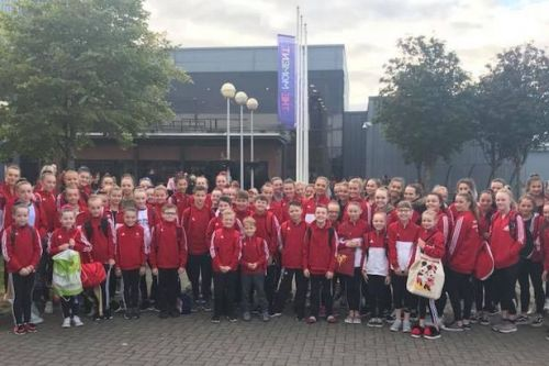Hamilton Gymnastics Club put on performance at SSE Hydro