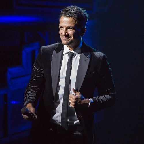 Peter Andre says his family is in isolation because of son's coronavirus symptoms