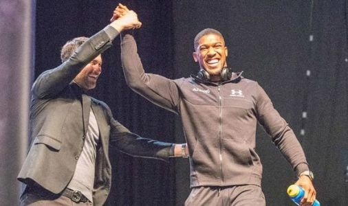 Anthony Joshua: April Tyson Fury fight possible as Eddie Hearn targets Deontay Wilder