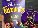 Cadbury releases a dark chocolate Favourites pack in stores for $14