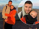 Love Island's Millie Court and Liam Reardon look cosy on 4.30am hiking trip
