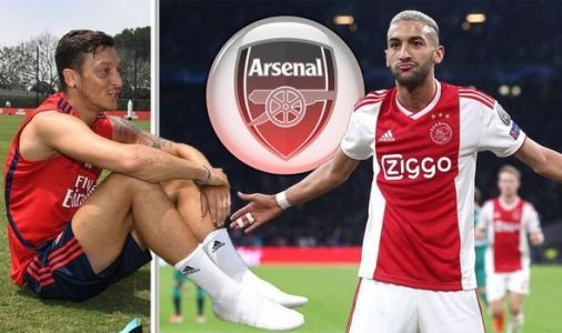 Arsenal told how to seal Hakim Ziyech transfer by Ajax chief as Mesut Ozil sale backed