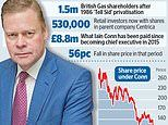 Boss of British Gas owner Centrica in line of fire as shares sink to a 16-year low