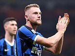 Barcelona and Real Madrid enter the race for Manchester United target Milan Skriniar