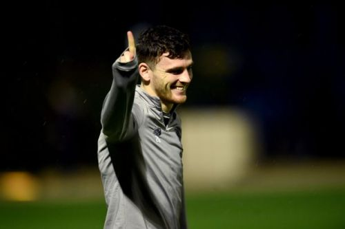Andy Robertson on Liverpool lockdown support and finshing job in Premier League