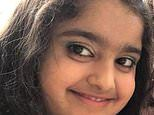 Pictured: British girl, nine, who died after eating ice cream in Spain