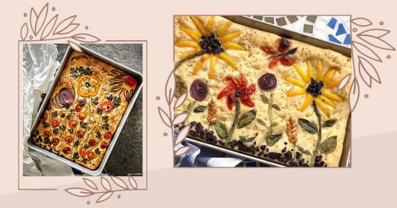 Focaccia art is the latest lockdown baking trend on Instagram