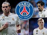PSG want Real Madrid trio Gareth Bale, Toni Kroos and Isco this summer