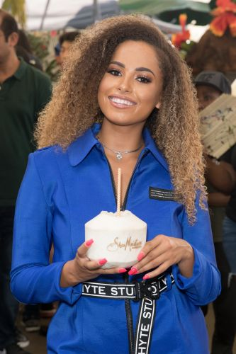 Love Island's Amber Gill parties with Nathalie Emmanuel and Molly Moorish at star-studded Notting Hill Carnival