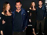 Adam Sandler and wife Jackie lead the stars at Uncut Gems premiere