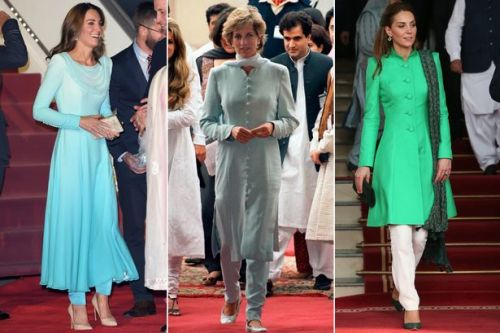 Kate Middleton channels Princess Diana as she takes traditional wardrobe for Pakistan trip