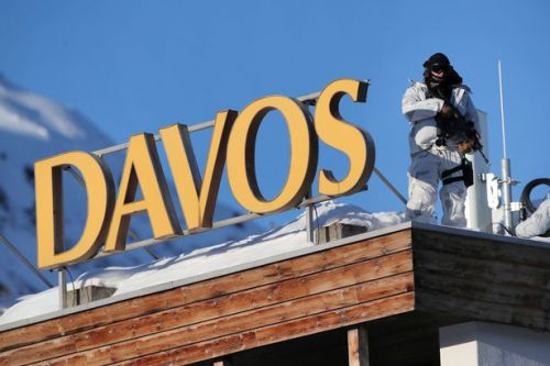 Swiss police 'stop plumbers accused of being Russian spies' at Davos meeting venue