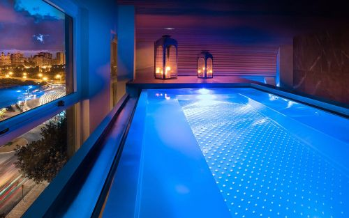 From ice rooms to plunge pools with views, the best spa hotels in Valencia