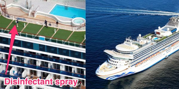 The Diamond Princess cruise ship, where at least 634 people caught the coronavirus, is setting sail again in April. Here's how it's being cleaned