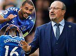 Rafa Benitez calls for five per cent improvement from all staff at Everton after double injury blow