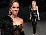 Kate Beckinsale sets pulses racing in black at tequila party in Los Angeles