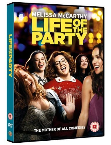 Win an HD Home Cinema Projector and Life of the Party on DVD