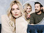 Sienna Miller continues to flash her large diamond ring amid engagement rumours