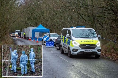 Huge police search in woodlands enters day six as mystery operation continues