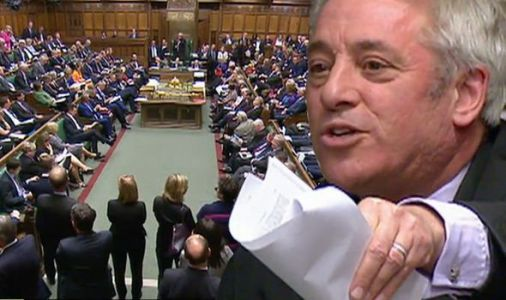 Brexit VIDEO: Vote REFUSED by John Bercow - Speaker's major blow in predictable judgement