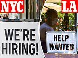 More than 13% of unemployed people are concentrated in New York, Los Angeles and Chicago