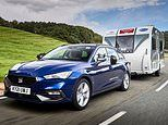 Planning to staycation? Seat Leon Estate is named the best car to tow a caravan