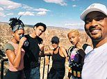 Will Smith is set to dive into his 50th birthday with a bungee jump over the Grand Canyon
