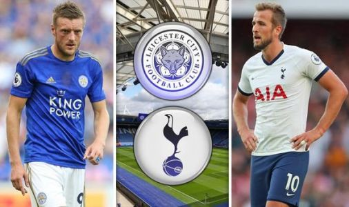 Leicester vs Tottenham LIVE: Confirmed line ups and updates on Premier League showdown