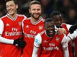 Arsenal 4-0 Newcastle: Hosts hit four to secure second league win for Mikel Arteta