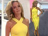 Amanda Holden, 49, shares sultry slow motion video flicking her hair