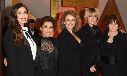 Stacey Solomon reunites with all the Loose Women stars to introduce them to baby Rex